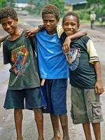 Faces of Papua new Guinea - Pacific Ocean