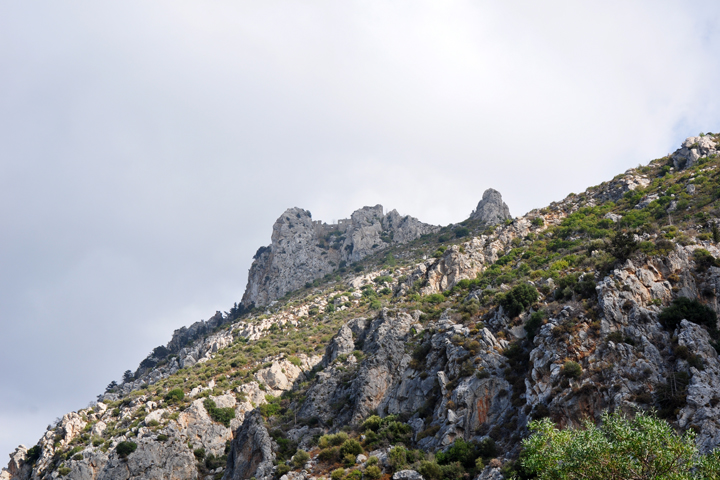 Towards St. Hilarion