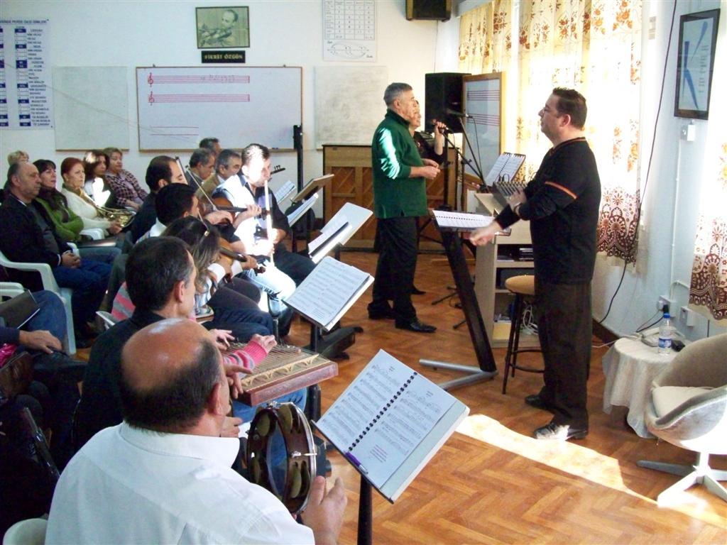 Fikret Özgün Eğitim Merkezi nde Prova Nesrin & Çetin Körükçü çifti ile 2009