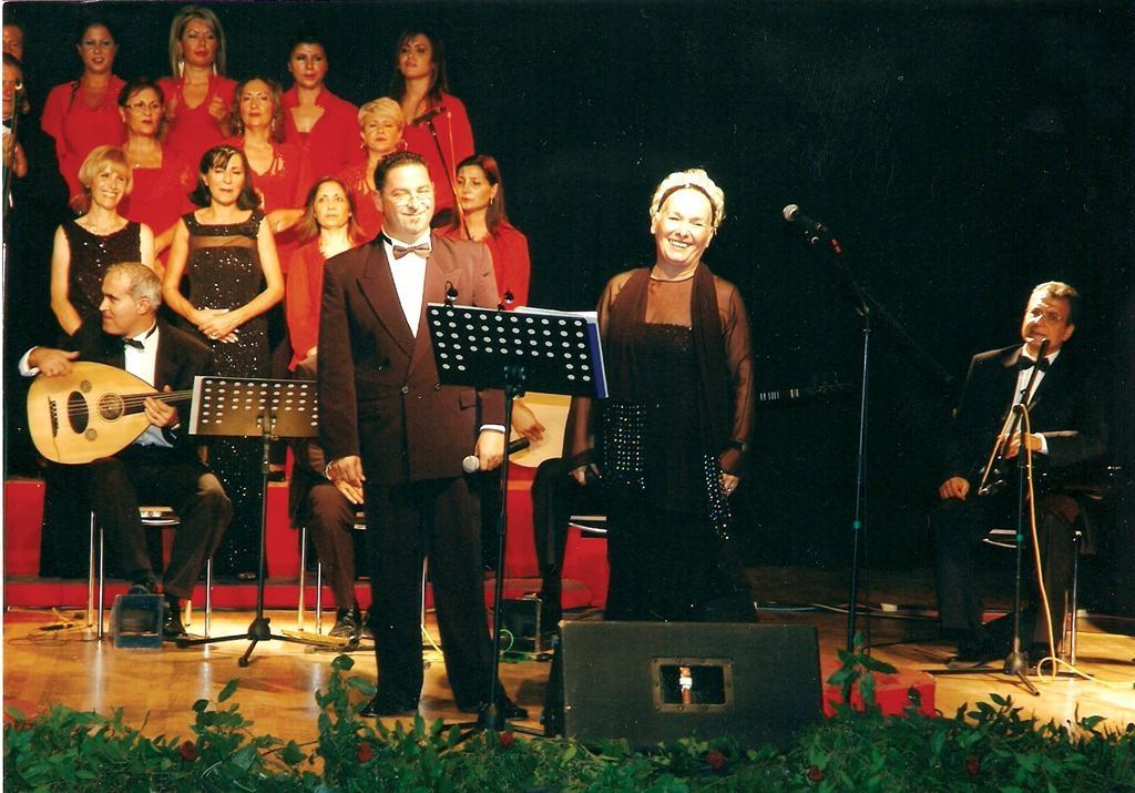 6. Uluslararası Zeytin Festivalinde Mihriban Sayınla (2007)