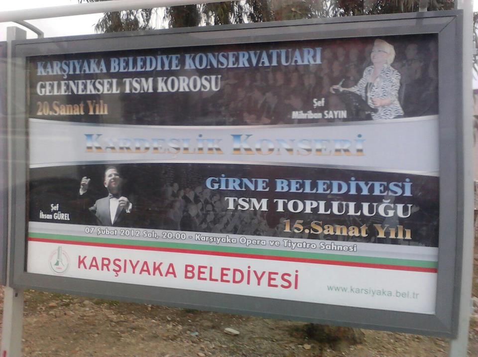 Karşıyaka\'daki Bilbord 2012